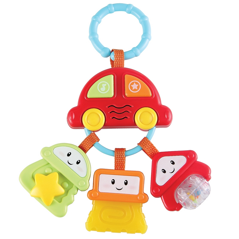 Keychain with keys SUNDY Happy Baby 330342 5pcs fura keychain