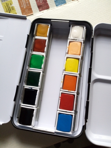 Solid Watercolor Paint Set photo review