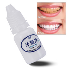 10ml 1 bottle Tooth Cleaning Whitening Water Oral Hygiene Care Teeth Cleaning Water Liquid Dental Tool Toothpaste Removes Stains