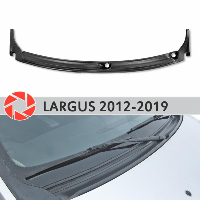 Jabot sotto il parabrezza per Lada Largus 2012-2019 di protezione della copertura della protezione sotto il cofano di protezione accessori auto styling