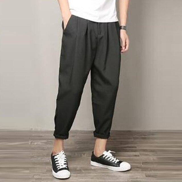 harem pants man to streetwear, harem pants streetwear, grey harem pants