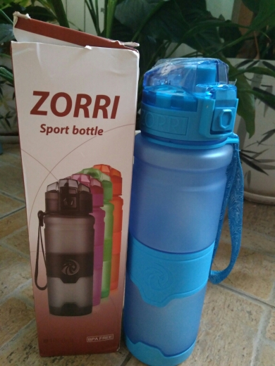 Best Sport Water Bottle TRITAN Copolyester Plastic Material Bottle Fitness School Yoga For Kids/Adults Water Bottles With Filter-in Water Bottles from Home & Garden on AliExpress
