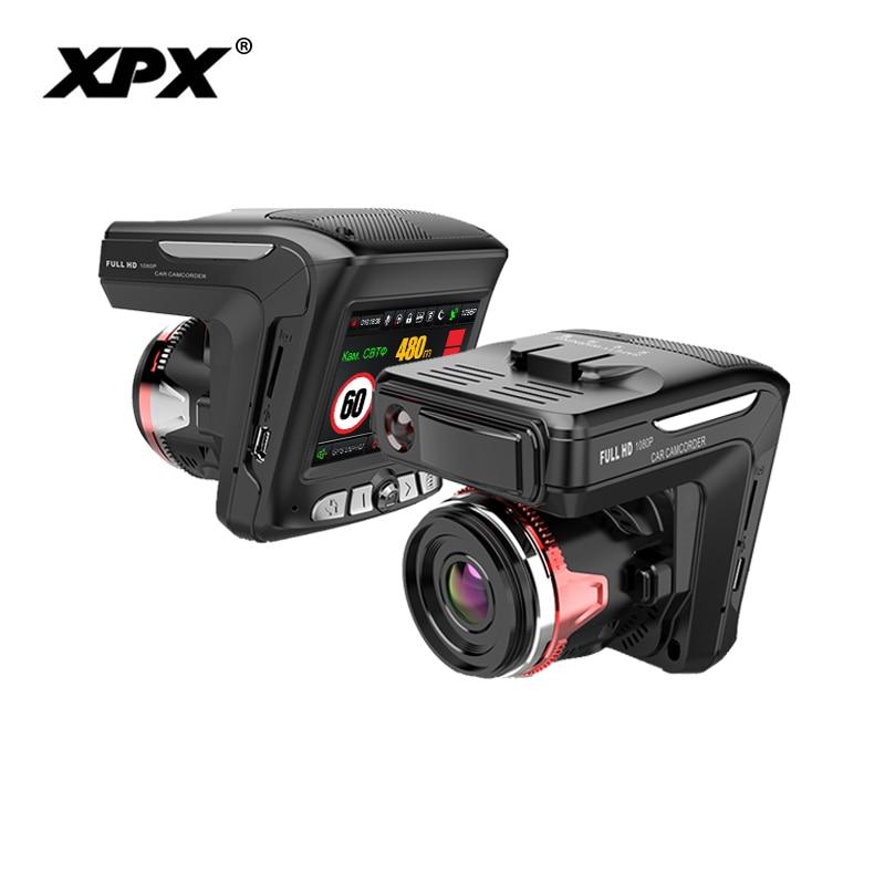 Dash cam XPX G565-STR Car dvr 3 in 1 GPS Radar Dvr  Car DVR Car camera Full HD 1296P G-srnsor Video recorder with antiradarDash cam XPX G565-STR Car dvr 3 in 1 GPS Radar Dvr  Car DVR Car camera Full HD 1296P G-srnsor Video recorder with antiradar