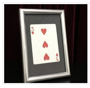 2017 Signed Card Thru The Frame By Hilgar-Magic Tricks