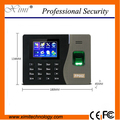 Super cheap price 3000 fingerprint user time clock color TFT screen TCP/IP free SDK time attendance free shipping