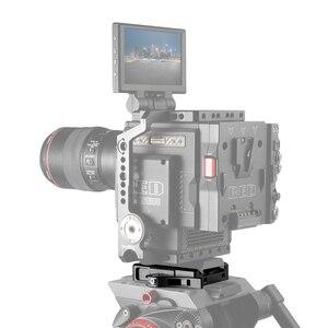 Image 5 - سمولتلاعب الإفراج السريع QR لوحة قطرة في تتوافق المشبك ل Manfrotto 501PL ترايبود 2006