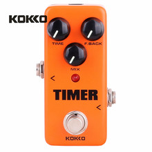 KOKKO FDD2 Timer Delay Electric Guitar Pedal de Alta Calidad Portatil Guitarra Effects For Musical Instruments Parts Accessories