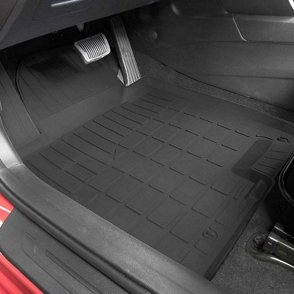 For Kia Ceed 2012-2017 rubber floor mats into saloon 5 pcs/set Rival 62801001 автомобильный компрессор yongkang xingmao ка 3502