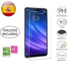 Protector de Pantalla para Xiaomi MI 8 lite Templado 9H 2.5D Glass Premium 0,3mm