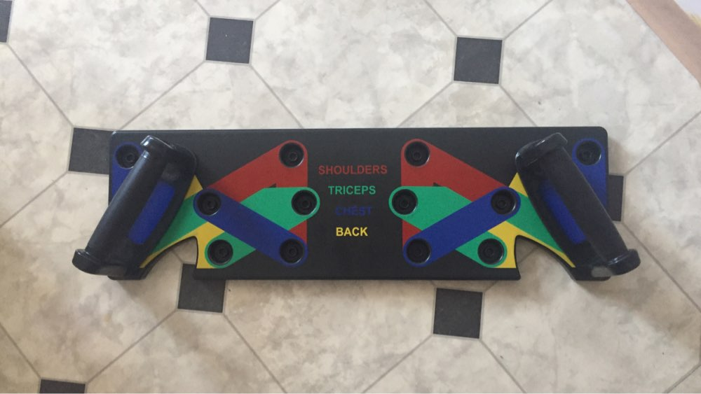 Multi-Function Push Up Fitness Rack Board photo review