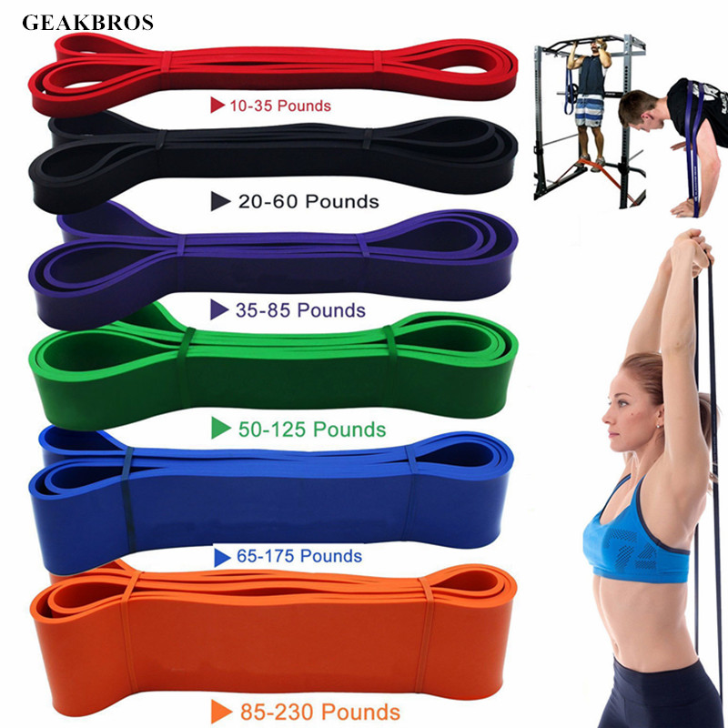 Training-Rope Expander Loops Fitness-Equipment Elastic-Band Exercise Workout Rubber Pilates