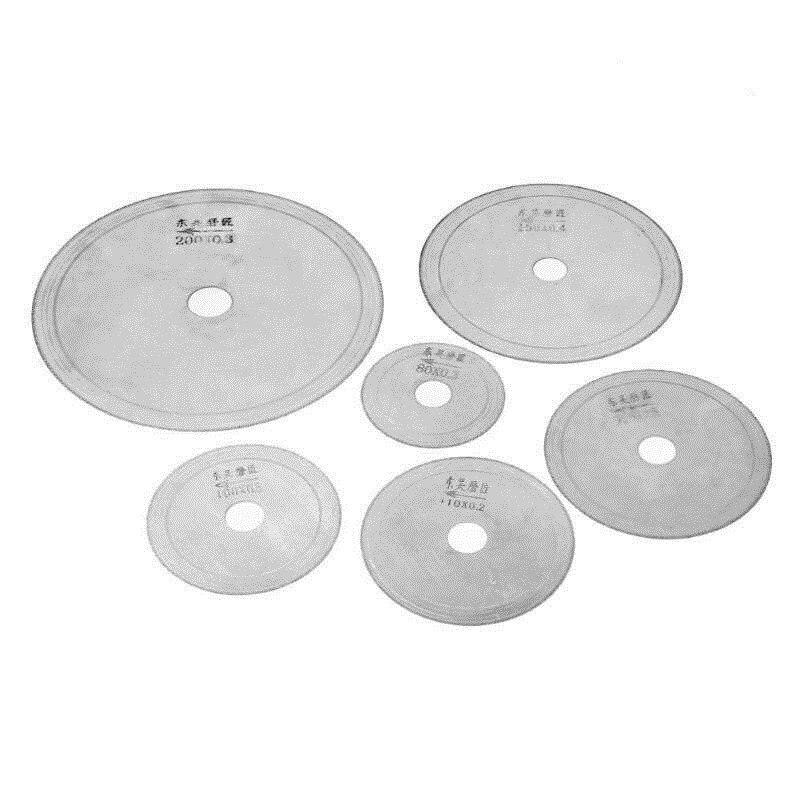 80/100/110/120/150/200mm Mini Rotary Tool Multi-functional Circular Saw Blades Diamond Stone Agate Jade Cutting Wheel Disc
