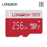 Memory card LONDISK EXTREME 256 GB Class 10 U3 microSDHC UHS I (without adapter)