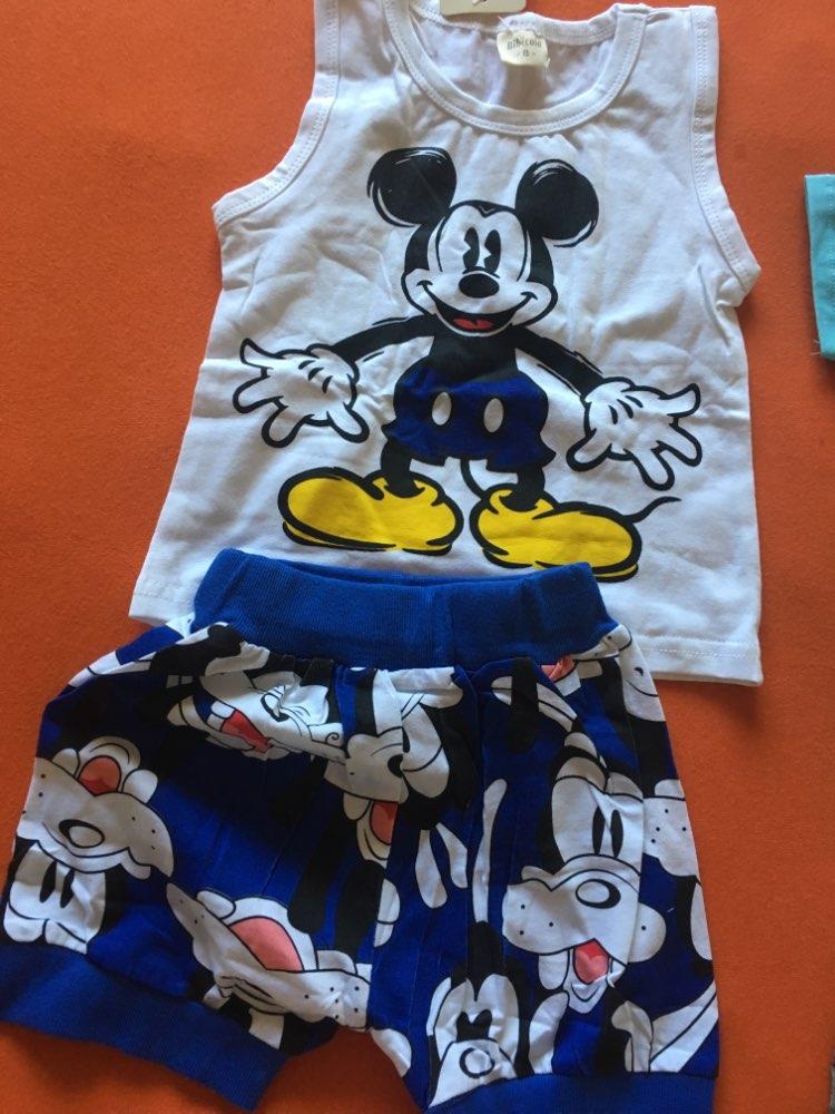 6c480b72e 19 reviews for BibiCola New Cartoon Summer Baby Boy Clothing Set Tank Top + Shorts  Kid Boy Summer Set Children Boy Clothes Set Sleeveless
