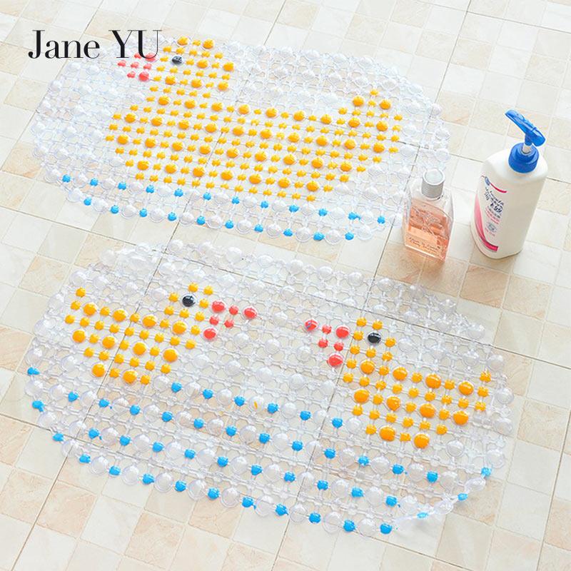 JaneYU 2019 Bathroom New Anti-Slip Rug Bath Kicthen Floor Mats Corrosion-Resistant Hot Sale Carpet For Shower