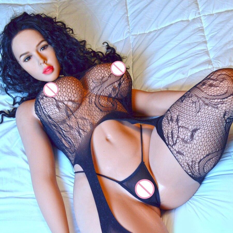 163cm (5ft4 ') h-cup BBW silicone poupées de sexe avec grand sein et gros cul amour poupée réaliste vagin 3 trous sexe Oral pour les hommes