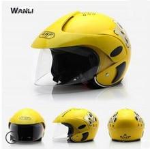 Motocicletas Acessórios & Peças crianças capacetes de Protecção Engrenagens do motor da motocicleta para 2-9 anos tamanho 48-53