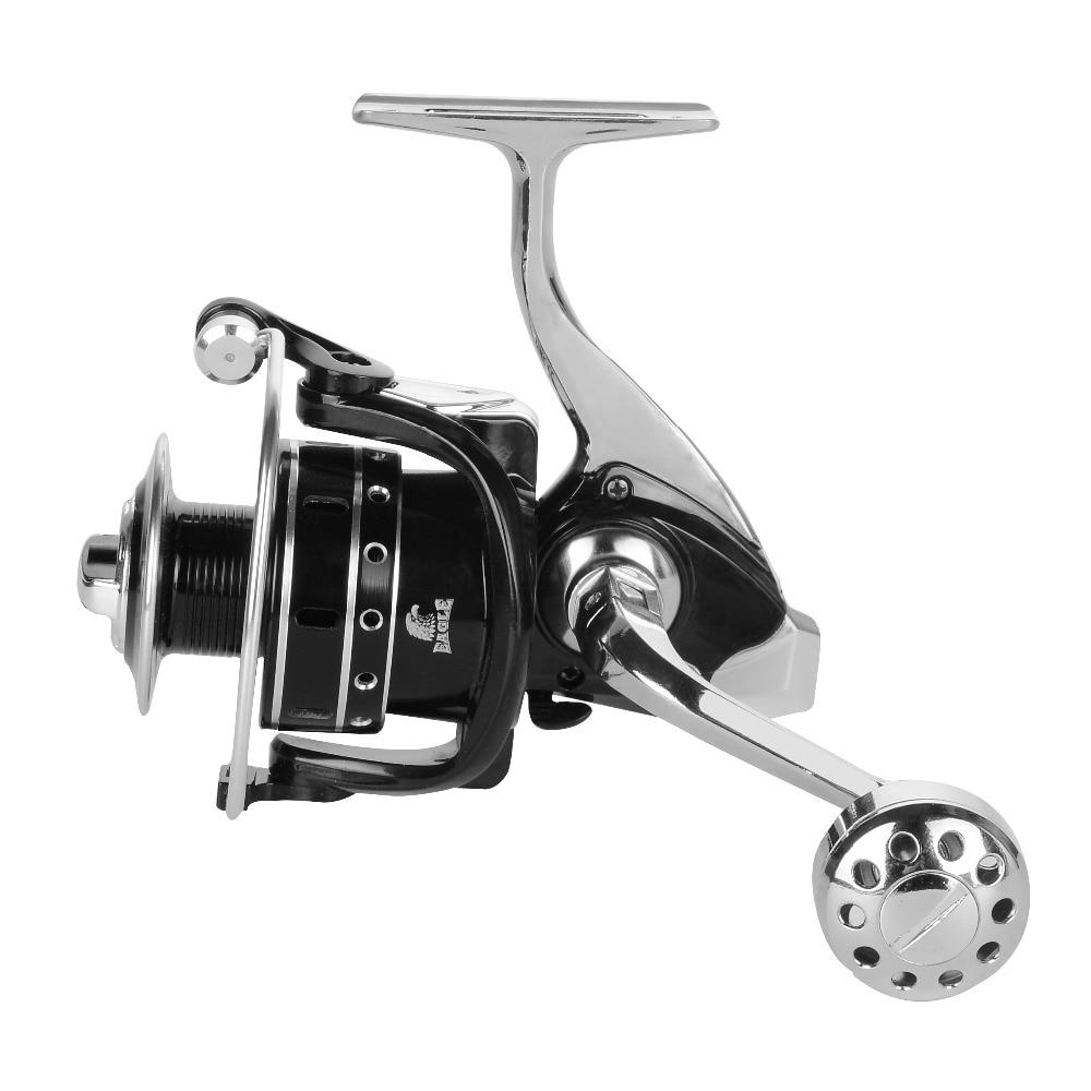 Full Metal Aluminium Body Super Quality Fishing Wheel 12+1BB 2000-7000 Series Spinning Reel Boat Rock Bait Carp Fishing Reel
