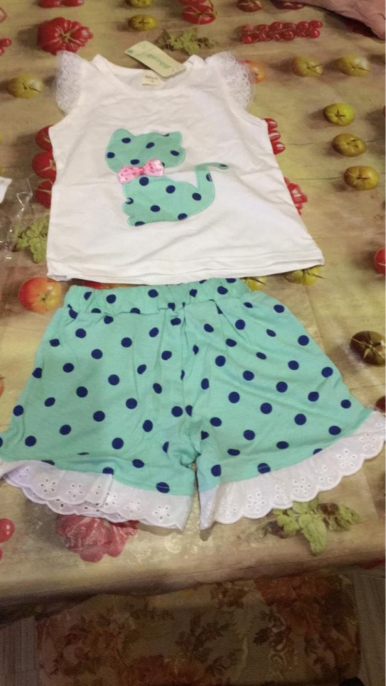 Baby's Summer Casual Clothing Sets photo review