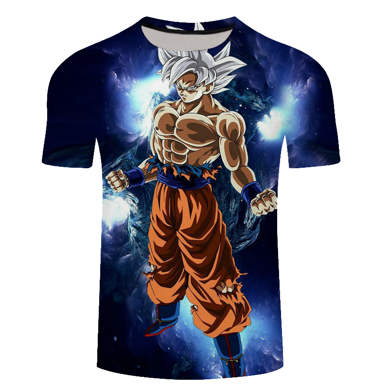 Plus Size 6XL Dragon Ball Goku Fashion T-Shirt New Summer 3D Men/Women Anime Harajuku T Shirt Master Roshi Lonzo Ball Tee Shirts
