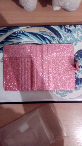 New Hasp Shiny Passport Holder Wallet RFID Blocking Case for Passport Travel Cover Case photo review