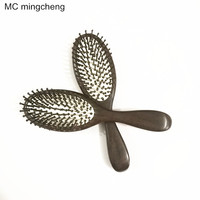 MC Box Packing Ebony Professional Hair Comb Health Care Massage Combs Anti static Hair Brush Reduce Hair Loss Hairdress Styling