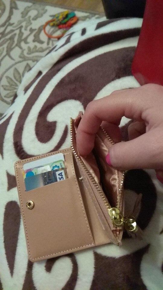 Основной материал:: ПУ; женщины портмоне; 1 цент монета; 1 цент монета;