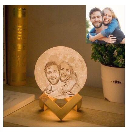 Print On Demand, Dropshipping Custom Moon Lamp CJJJJRHD00243