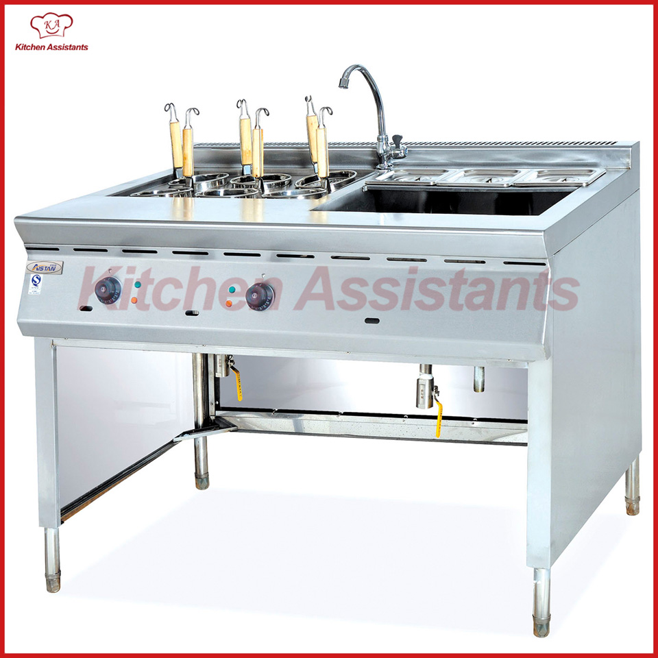EH1276 electric convection pasta cooker and bain marie machine pkjg eh1276 bain marie 6 pan for commercial kitchen convection electric pasta cooker