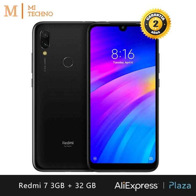"[Global Version] Xiaomi Redmi 7 Smartphone HD+6,26""(3GB RAM + 32GB ROM, Dual SIM, 4000mAh Battery)"