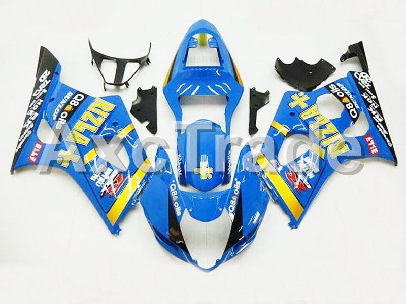Мотоцикл Обтекатели для Suzuki GSXR системы GSX-Р 1000 К3 GSXR1000 2003 2004 03 04 ABS пластичная впрыска Обтекателя кузова комплект черный 5252