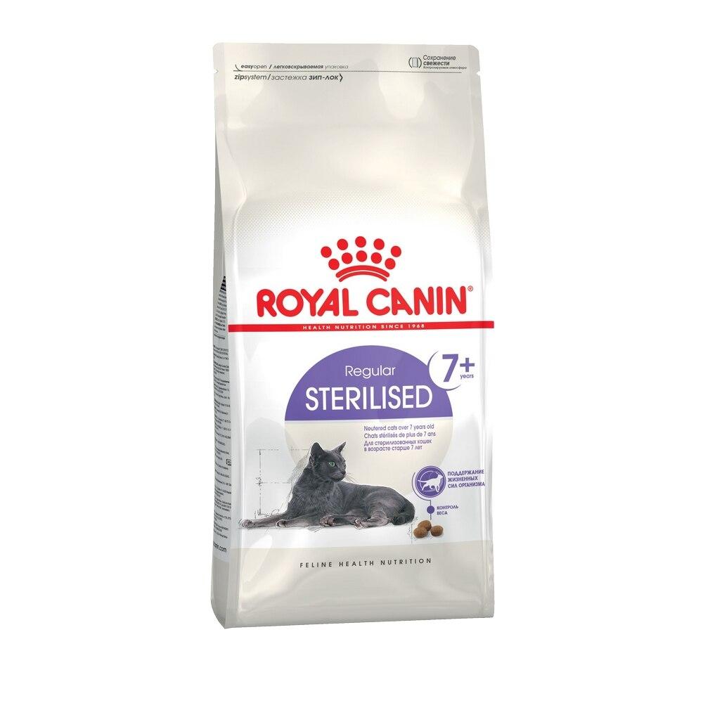 Royal Canin Sterilised 7+ для стерилизованных кошек и кастрированных котов старше 7 лет, 1,5 кг