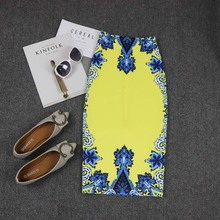 NiceMix 2019 Summer New 50s 60s Vintage Retro Skirt Lady Floral Print High Waist Casual Midi Skirt Saia Longa Plissada Women Clo