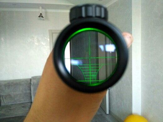 Lunetas Riflescopes Cervos Retícula Escopos