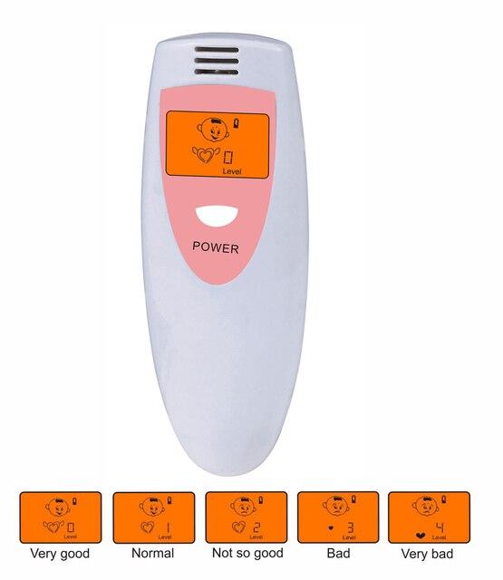 Túi Hơi Thở Hôi Tester Chăm Sóc Sức Khỏe Tiện Ích Breathalyzer Detector Phân Tích Mùi Khắc Phục Miệng Nội Bộ Khử Mùi Meter nước súc miệng