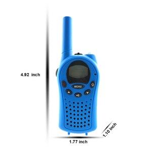 Image 3 - 2 Stuks Mini Walkie Talkie Voor Kinderen Radio Frs/Gmps 8/22CH Vox Zaklamp Lcd Display Uhf 400 470 Mhz Twee Manier Radio Intercom Geschenken