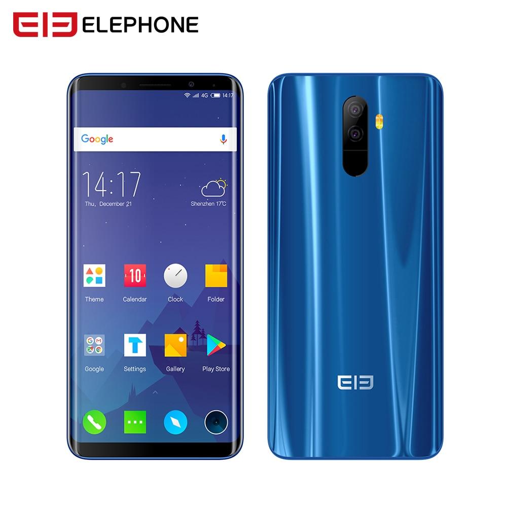 Elephone U Pro SmartPhone 6GB 128G 5.99'' Snapdragon 660 Android 8.0 Octa Core 13MP Face ID Fingerprint NFC 4G LTE