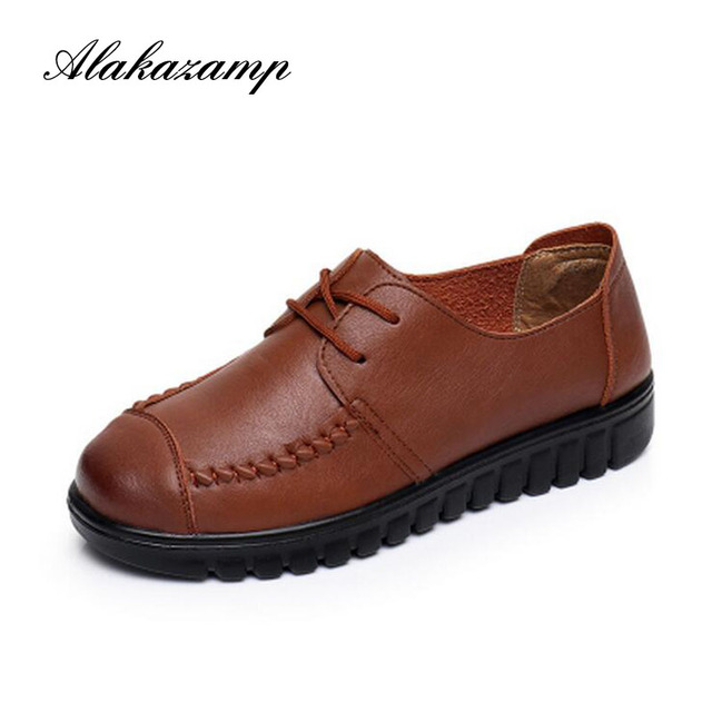 2018 Women Flats Platform Shoes Suede Leather Lace up women Moccasins Creepers slipony Female Casual Summer Shoes Ladies ey805