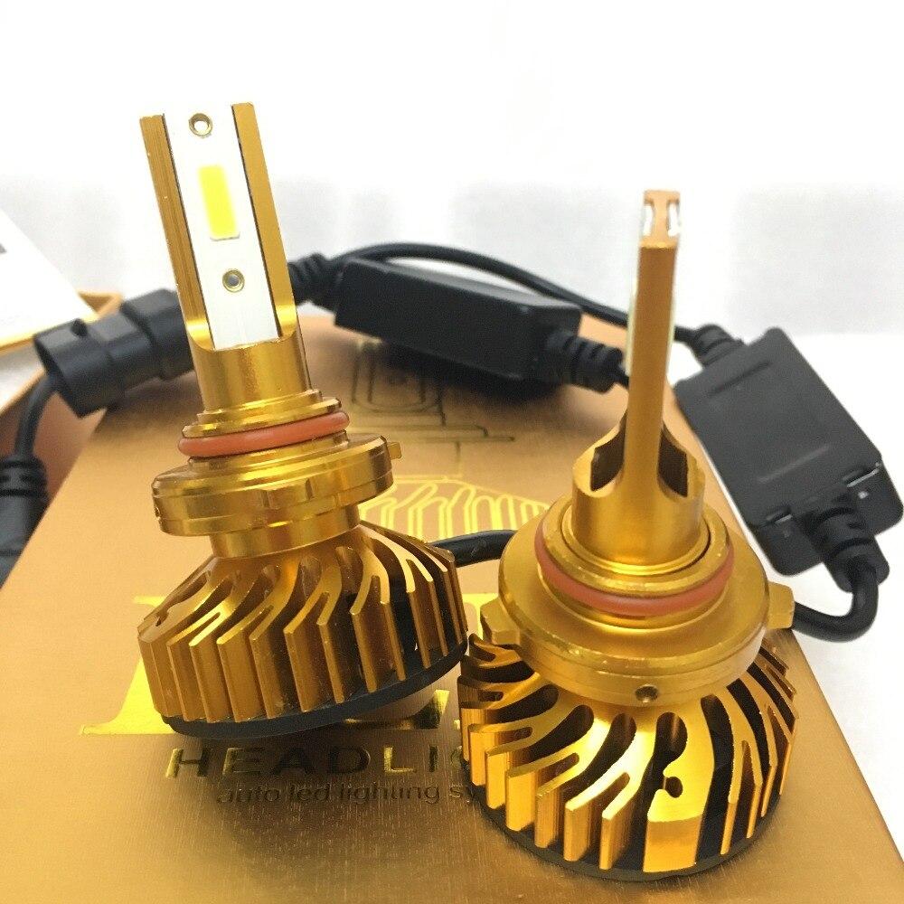 Светодиодные Автомобильные фары H7 led H4 лампы HB2 H1 H3 H11 HB3 9005 HB4 9006 9004 9007 72 Вт 9012 лм автомобильные лампы Противотуманные фары 12 В