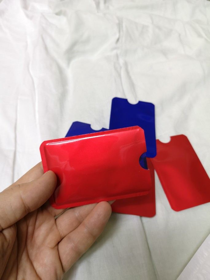 Metal Credit Card Holder Anti Rfid Wallet for Cards Aluminium Blocking Reader Lock Bank Card Holder Id Bank CardCase Protection photo review