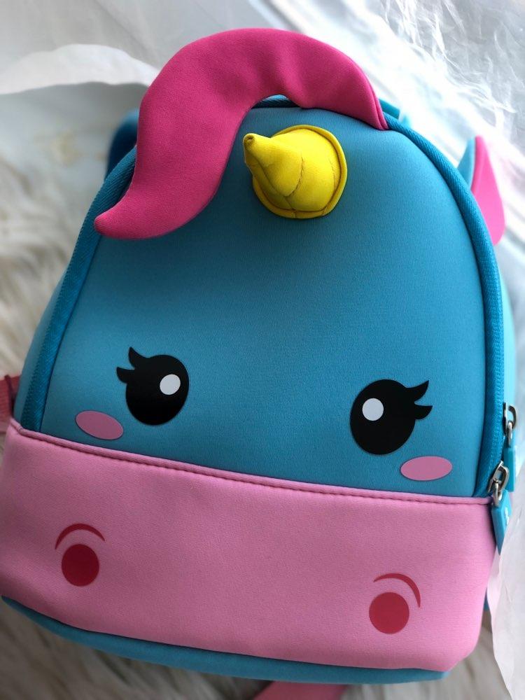 Unicorn Children School Backpack photo review