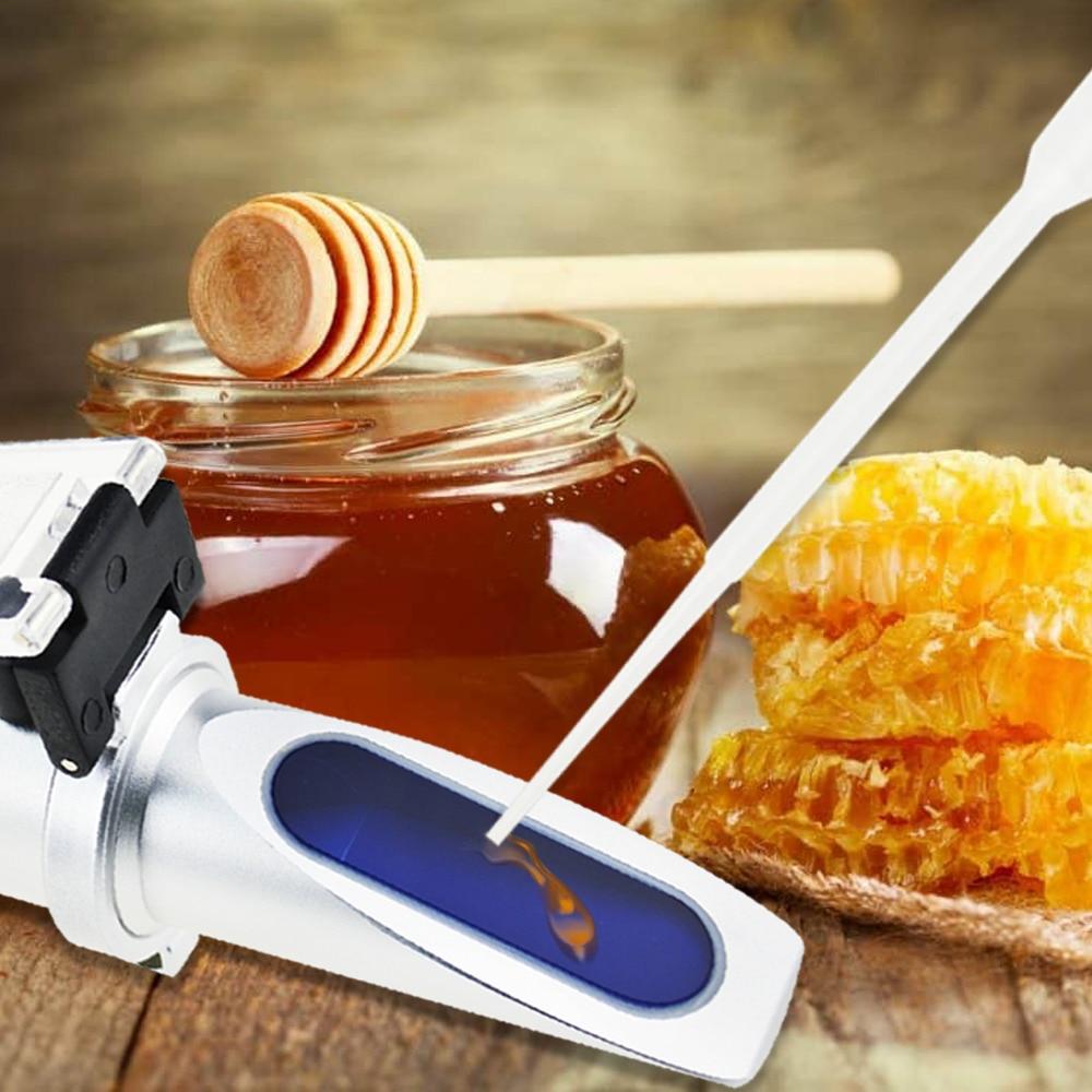 eff6a912588 Aliexpress.com   Buy 3 in 1 Honey Refractometer Brix Moisture Baume Tester  Meter ATC