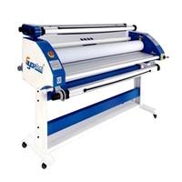 1.6M Large Format Laminator For Liner Film Pvc Sign Banner Shops 63 Roll Laminating Machine