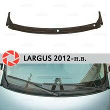 Jabot под лобовое стекло для Lada Largus 2012-2018 аксессуары Защитная крышка Защитная оклейка автомобилей