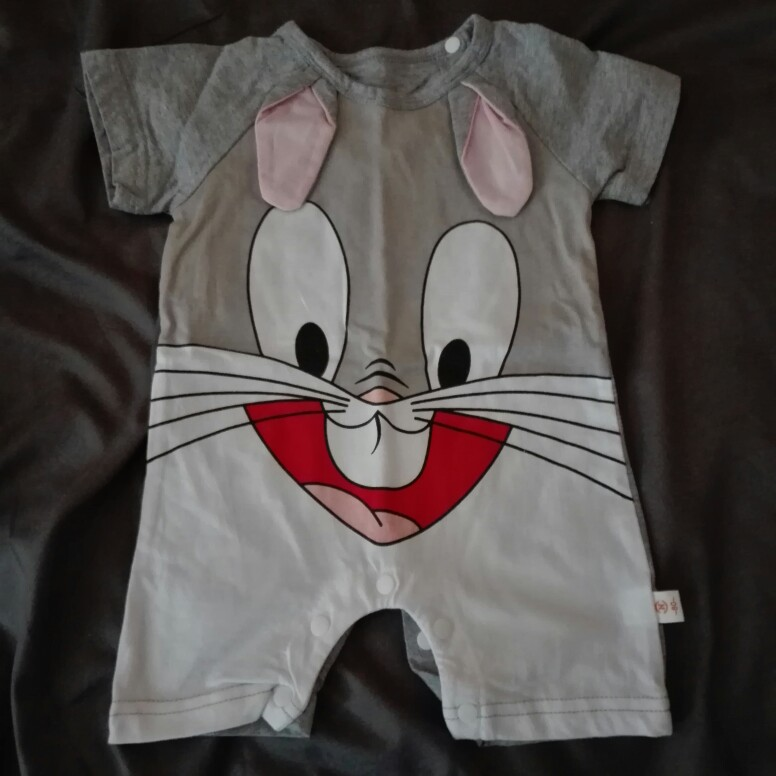 Baby's Funny Cotton Romper photo review