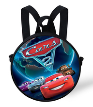 9-Inch Cartoon Cars Bag For School Backpack For Girls Birthday Gifts For Children School Bags For Kids 1-5Years Old