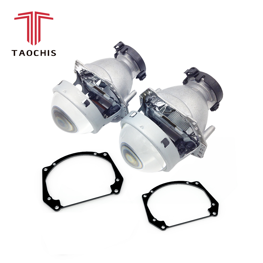 цены TAOCHIS Car Styling frame adapter Hella 3r G5 Projector lens retrofit for AUDI A5 Q5 Q7