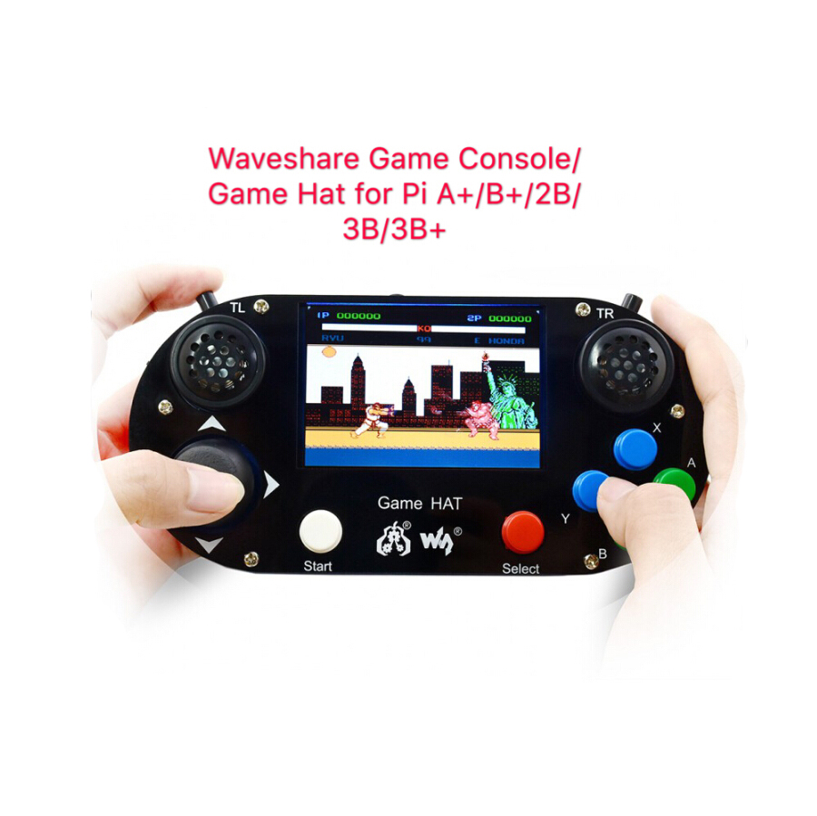 ShenzhenMaker Store Game Console Game Hat for Raspberry Pi A B 2B 3B 3B 3 5inch