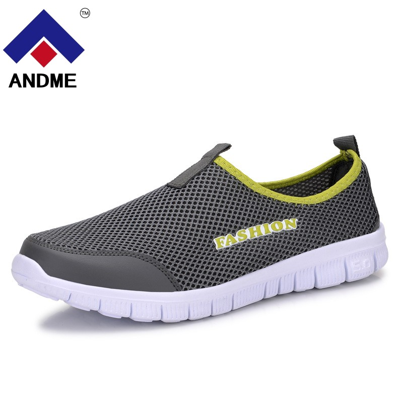 New Men 2018 Summer Shoes Sneakers Mesh Breathable Upstream Shoes Breathable Slip-on Flats Water Shoes 2017 new rax spring and summer trace shoes men interference water breathable non slip hiking shoes mesh shock absorber insoles