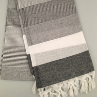 Turkish Hammam Towel | Oversized 40''x70'' Peshtemal | Quick Dry | 100% Cotton Peshtemal | Suitable for Backpacking,Camping,Gym